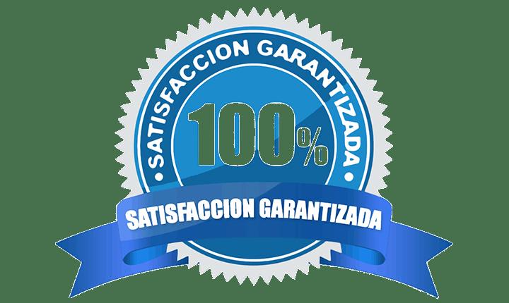 100% garantia de satisfaccion